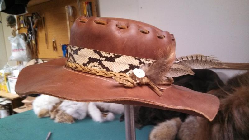 8a601506813 Wildlife Minnesota - Leather Hats